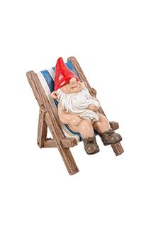 Gnaughty Gnome Sunbathing 2
